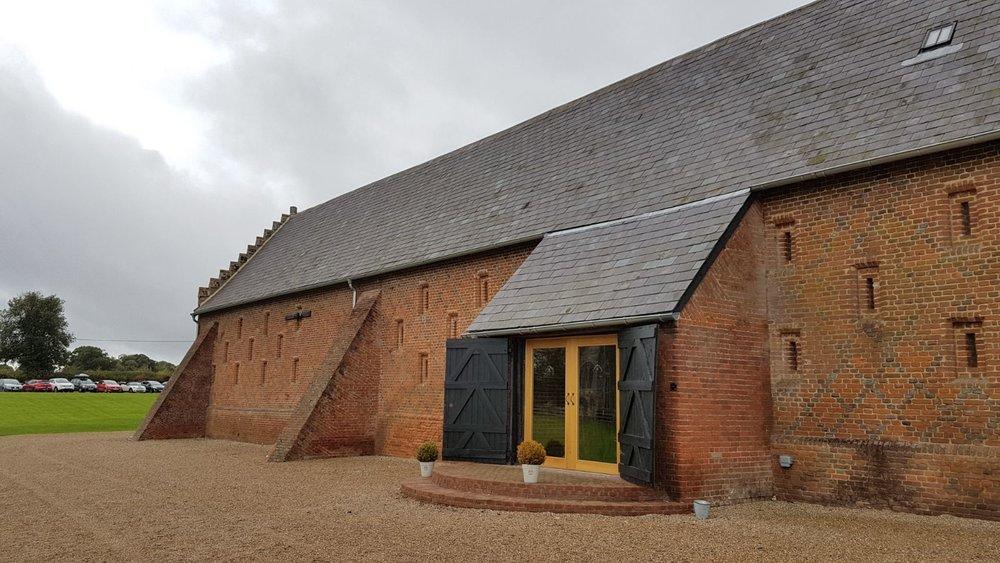 Copdock Hall - Tudor barn