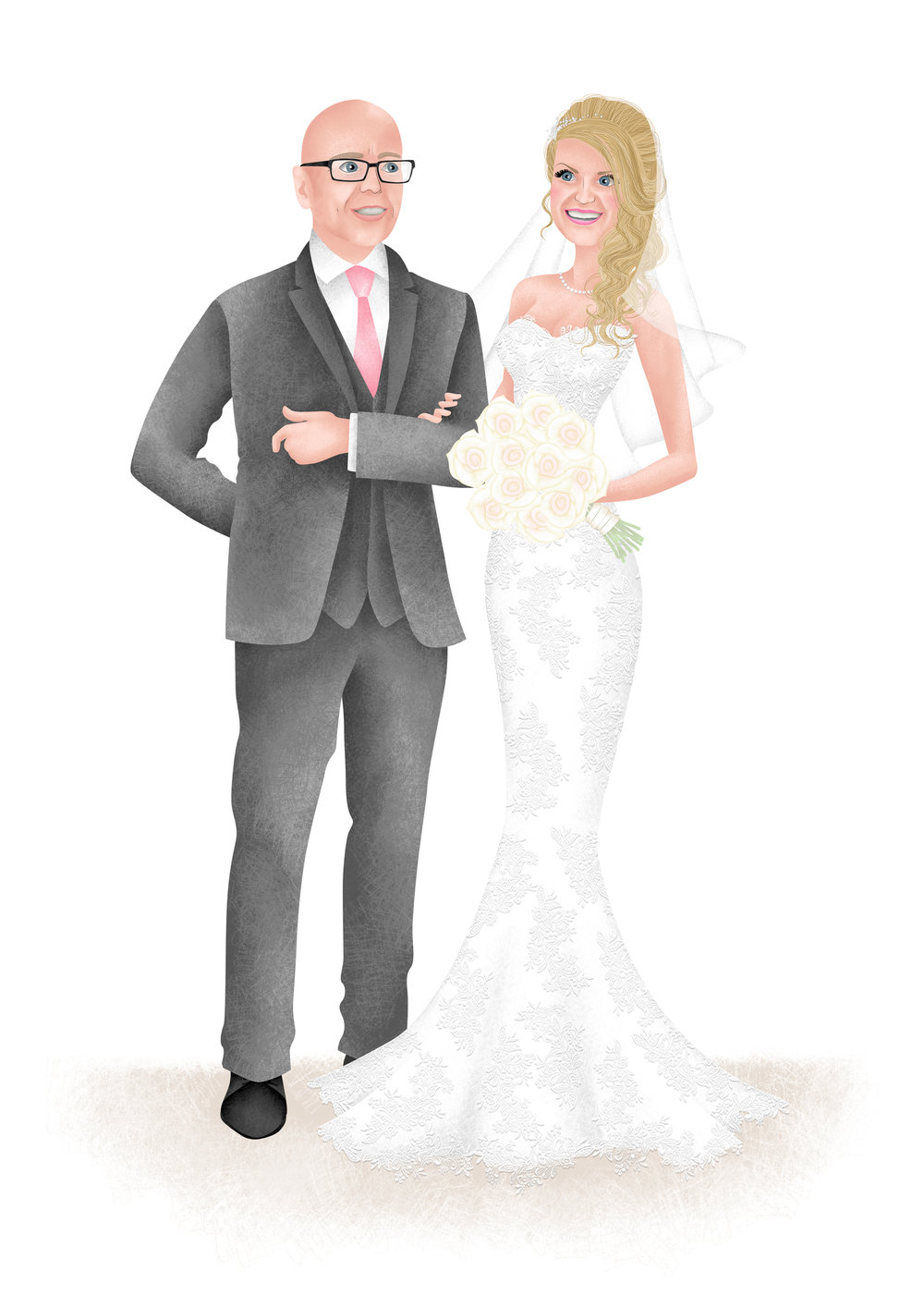 Hannah Weeks Illustration - Vicki Mitton - BEspoke Portrait - A4.jpg