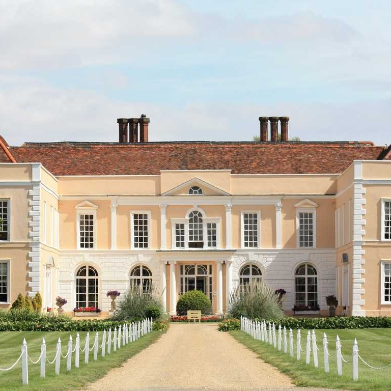 Hintlesham Hall - I am a recommended supplier to Hintlesham Hall in Suffolk.