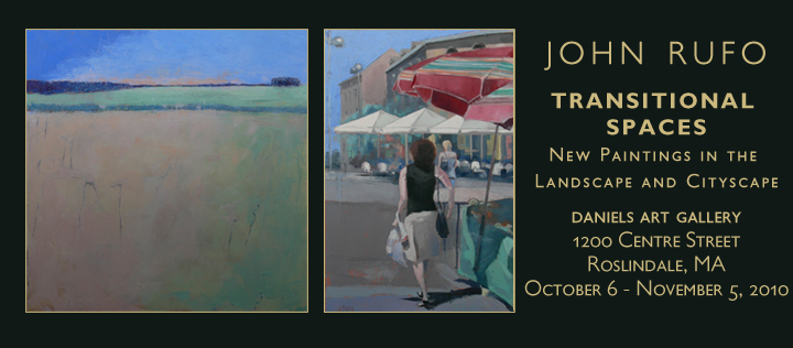 John is having a solo show in Roslindale!  See his blog post below:     jrufoart :     Here is the official invite to the show at the Daniels Gallery.  There is no opening, just go and enjoy if you can find the time.  It's part of the Hebrew Senior Life Center in Roslindale so the hours are pretty much all day, every day and I would think you go early in the evening as well.