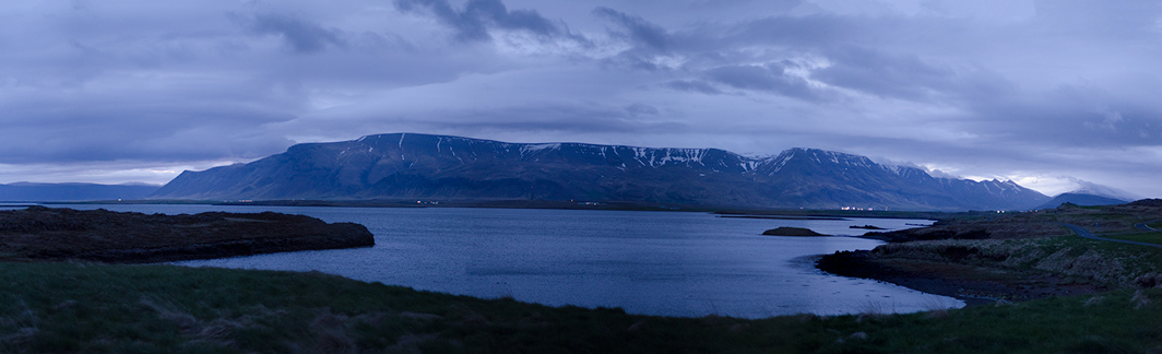 lizj :     After Midnight - View from Korpalstadir, Reykjavik, Iceland   Photo by Liz Johnson     More inspiring work by my friend and fellow artist Liz Johnson!