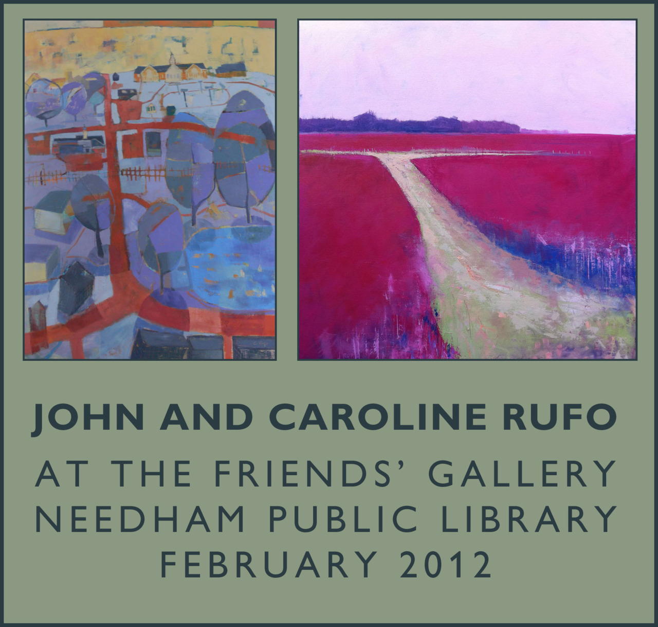 While there is no opening reception for this show, it will be up for the month of February.