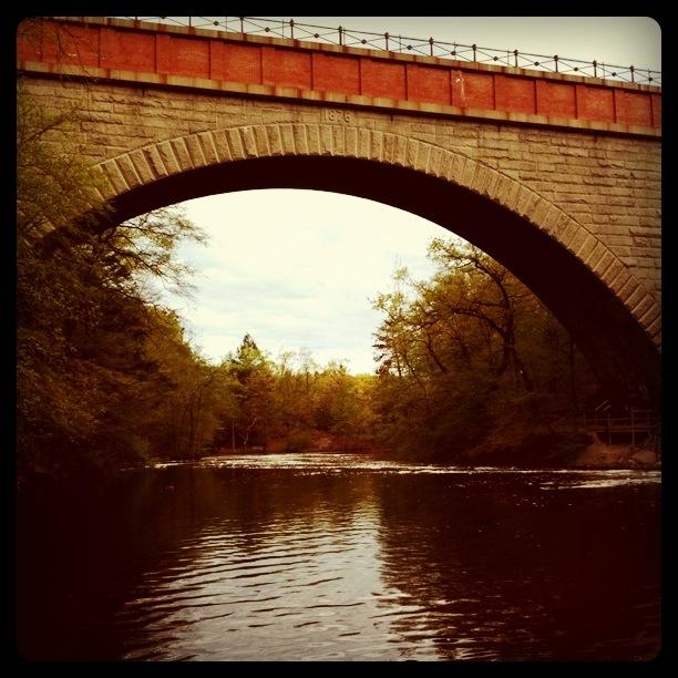 Morning walk at Echo Bridge