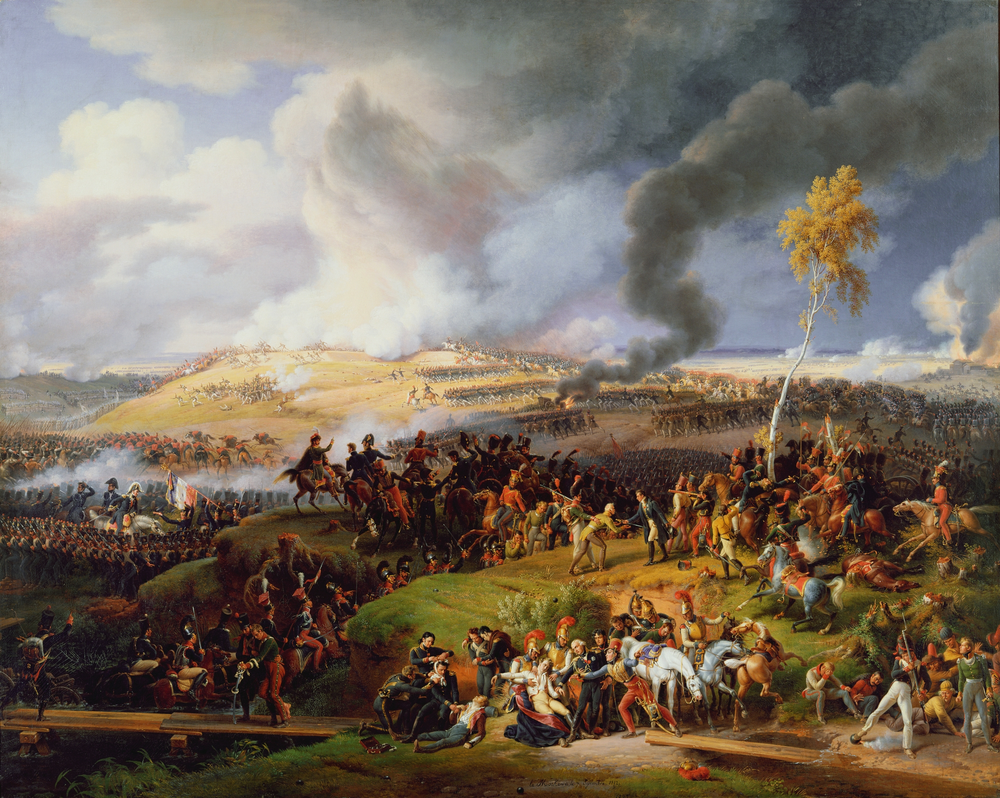 The Battle of Moscow, 7 September 1812 by Louis Lejeune (1822)