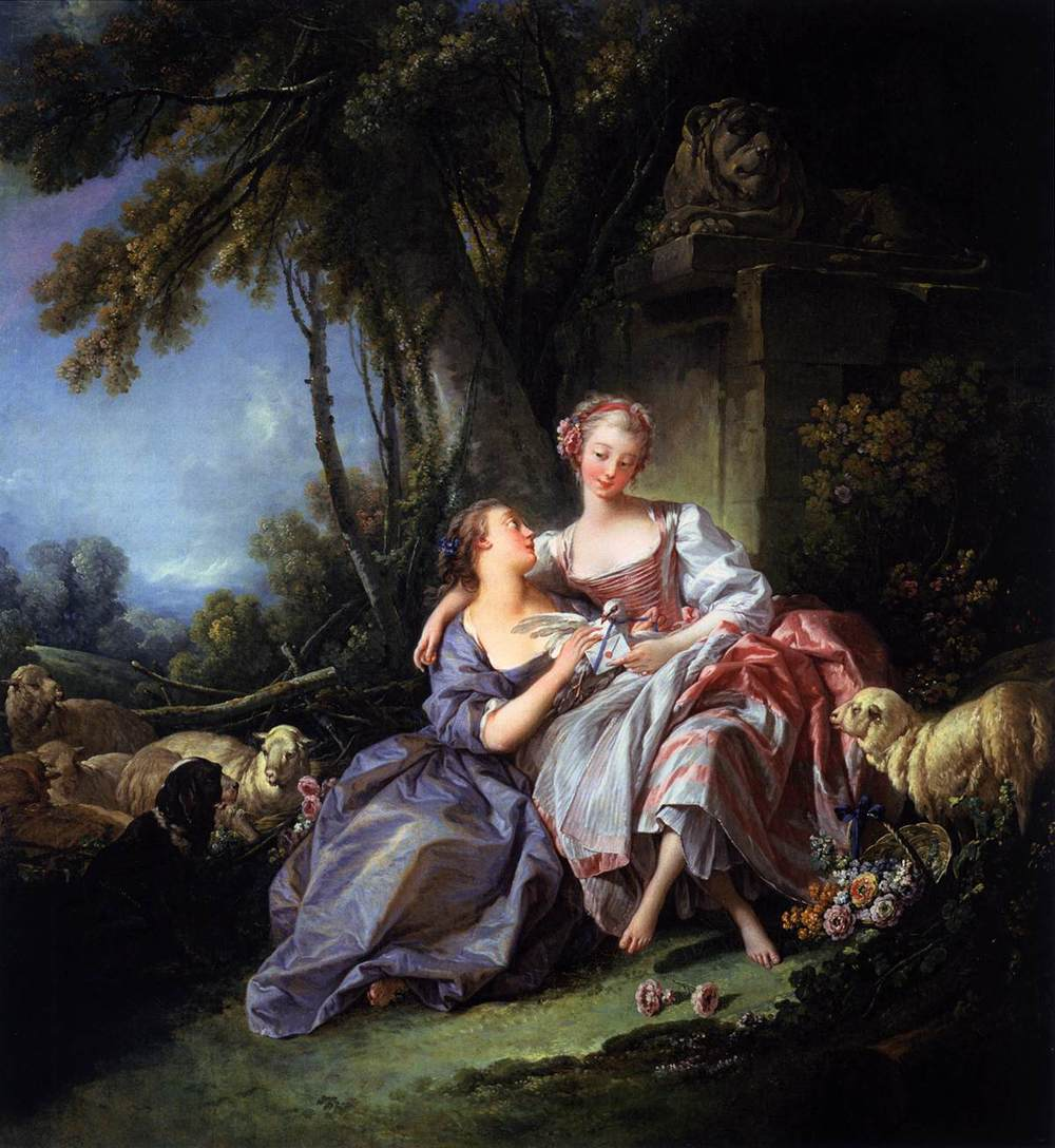 The Love Letter by Francois Boucher, the National Gallery, Washington D.C.
