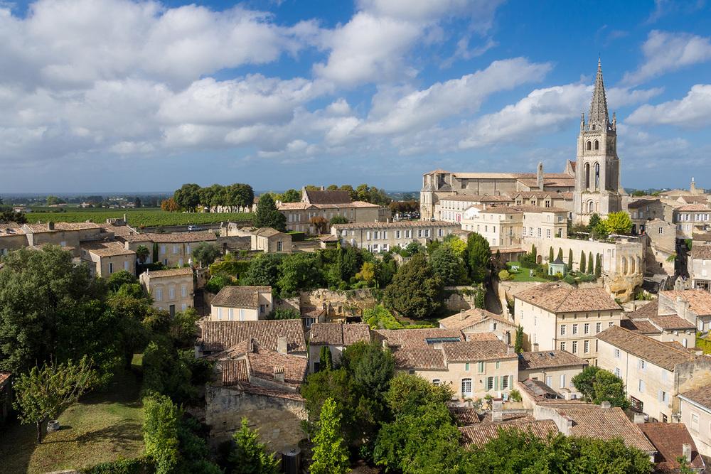 The exquisite wine making village of St Emilion
