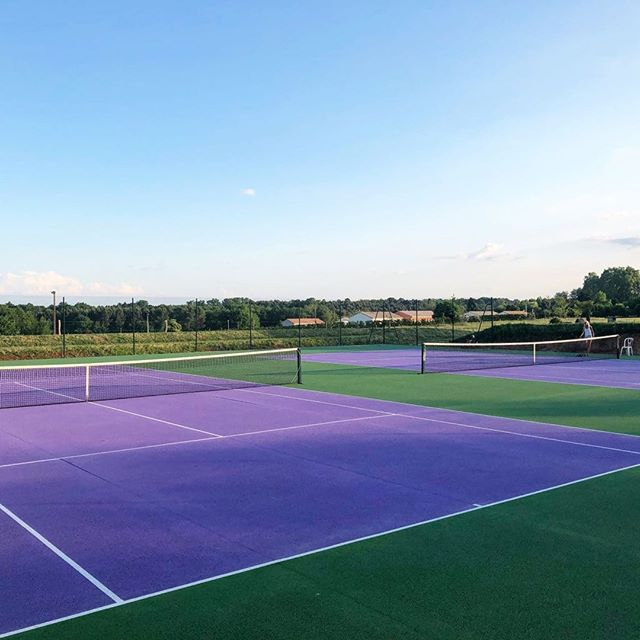 Did you know that whilst you're with us, it's not just your stress levels you can improve but also your backhand? We have two full sized, professional courts and a wonderful tutor on hand to help with lessons!  Victoria x  #chateaulife #chateaufengari #tennislessons #protennis #relaxation #soblessed #frenchlife #sportsholidays #vacationtime #summersun #tennislessons #thirstythursday