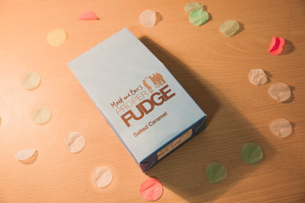 Matt & Ben's Proper Fudge - Salted CaramelClick the image find out more