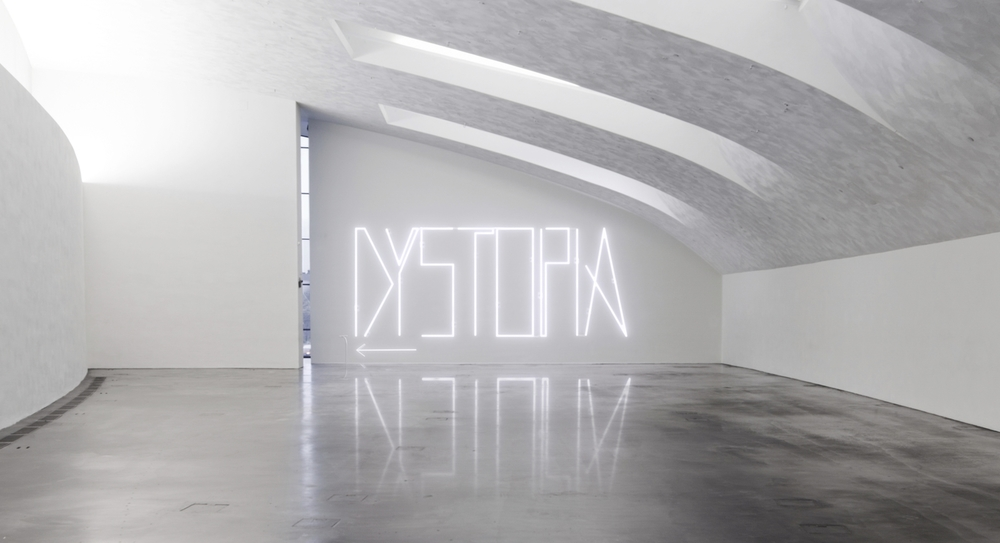 Dystopia Neon Sign