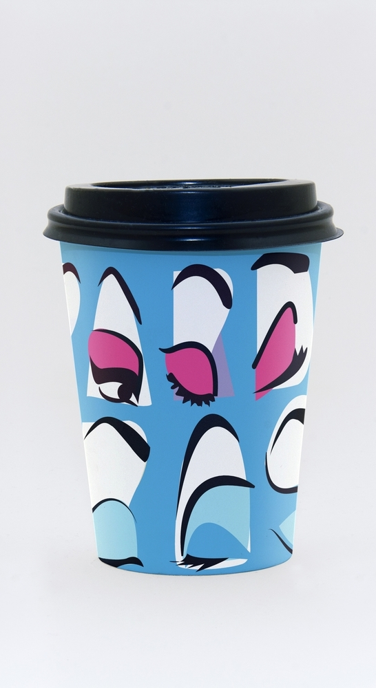 Mardi Gras Coffee cup