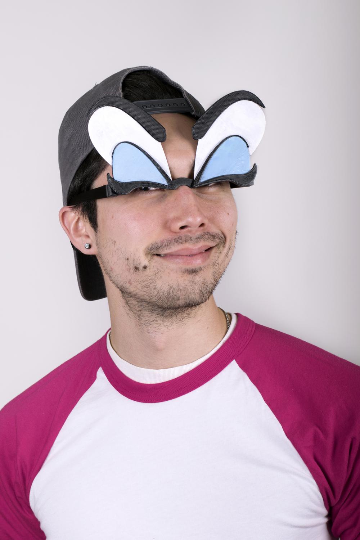 Mardi Gras Eye Glasses