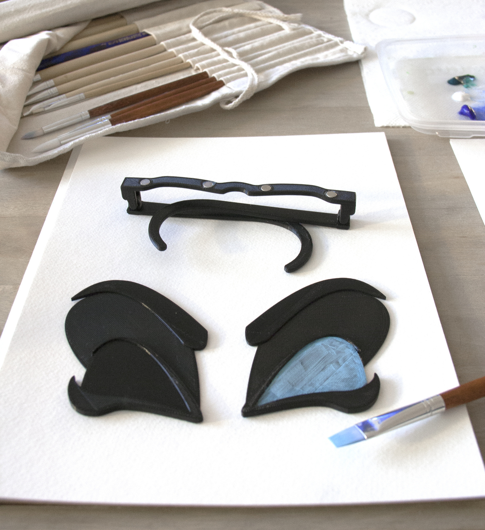 Mardi Gras 3D glasses