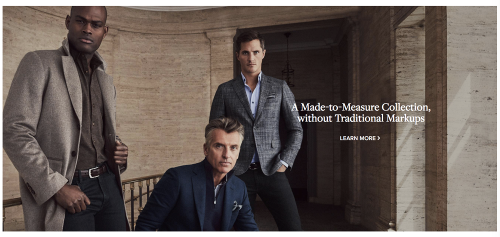 J. Hilburn Luxury Menswear - Get a 90 Day Fit Guarantee @ jhilburn.com