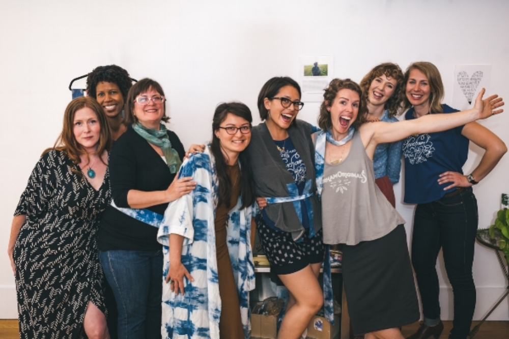 Durham group of super awesome lady entrepreneurs @ Liberation Threads