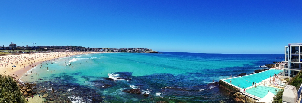 Bondi Beach and the Iceberg Pool