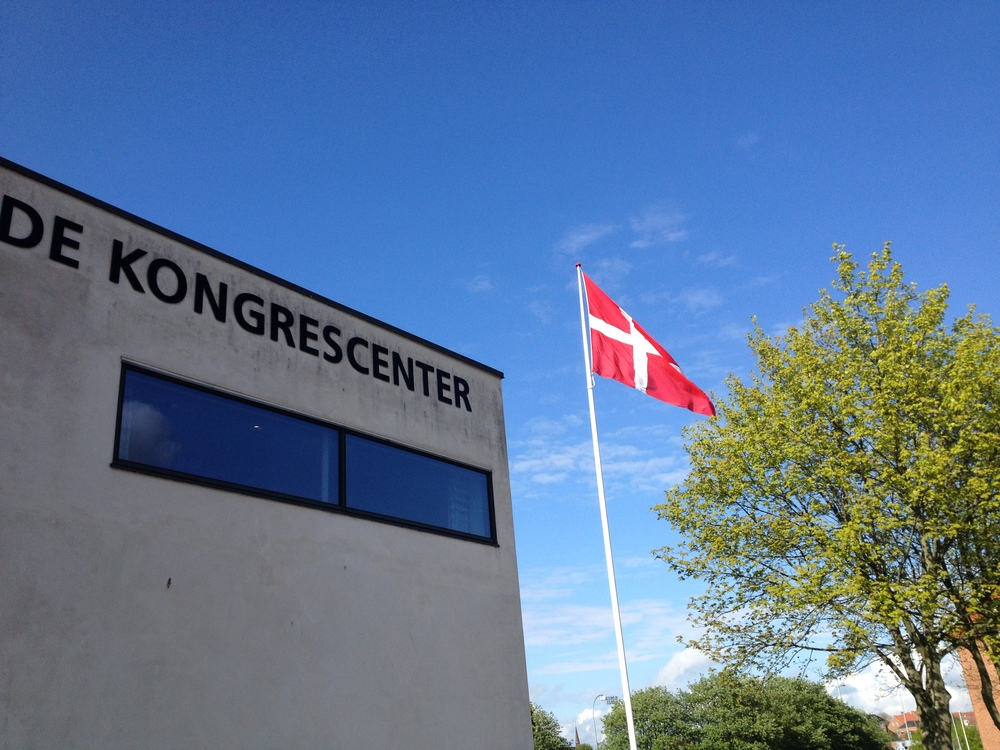 The Roskilde Kongrescenter entrance