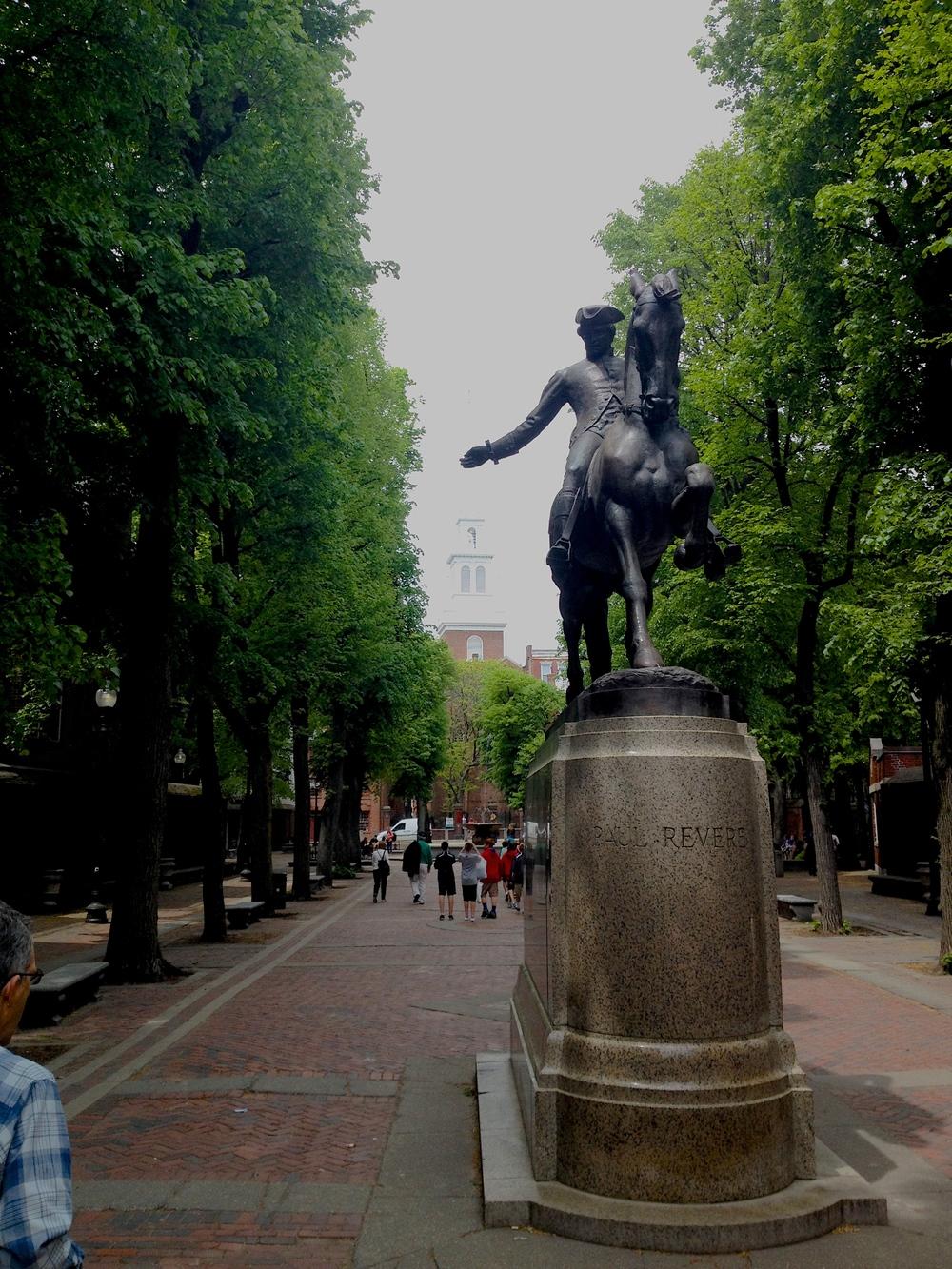 Paul Revere: Badass Patriot and stellar horse rider