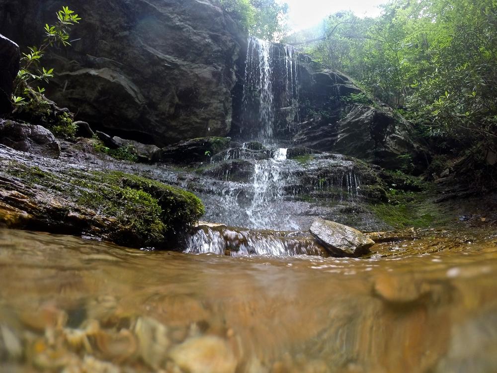 Waterfall near Hanging Rocks