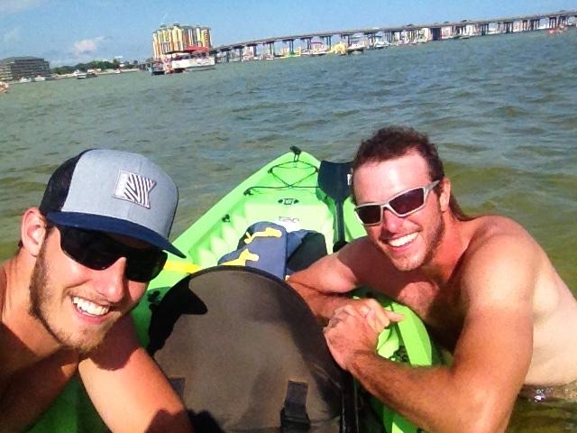 Crab Island selfie