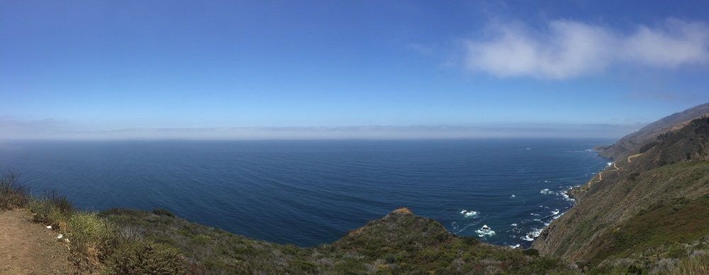 Panoramic view from the PCH