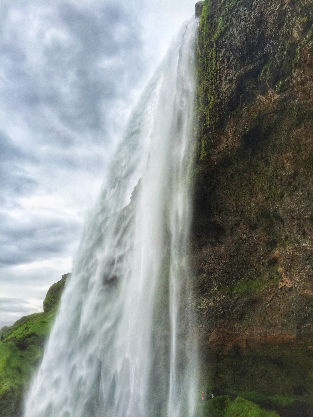 The Seljalandsfoss waterfall near Vik