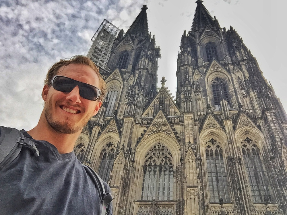 Selfie in front of the Dom