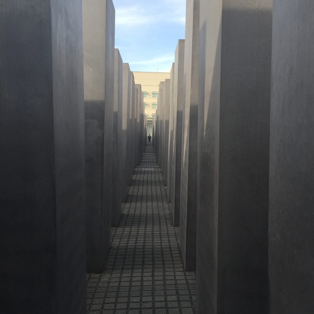 The Holocaust Memorial in the city center