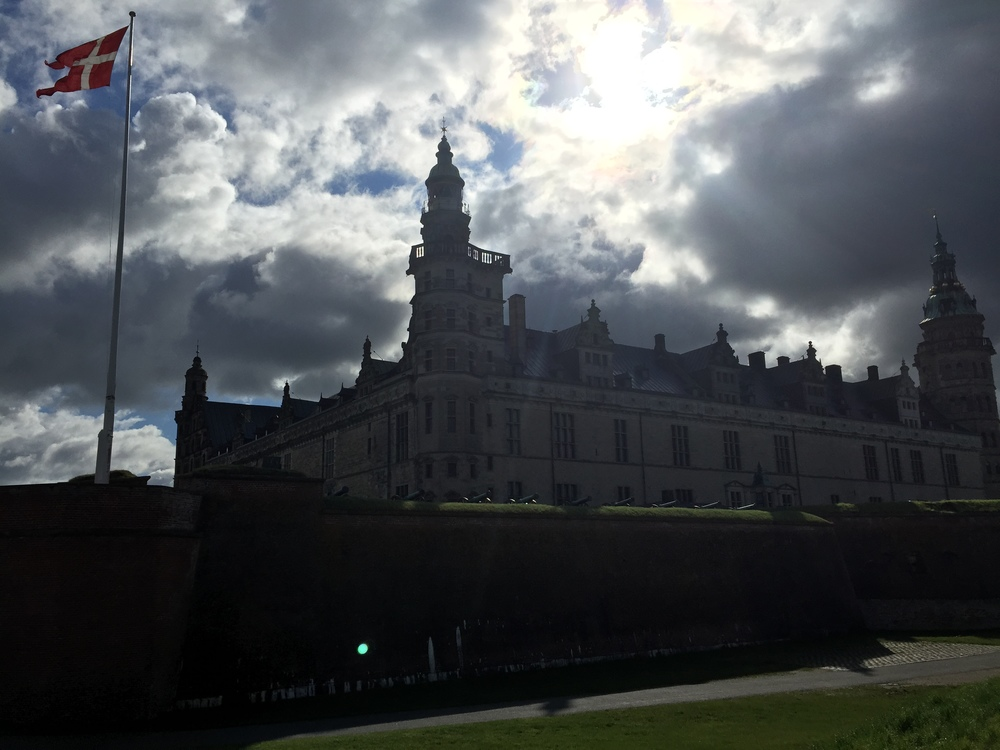 Kronborg Castle, the site of Shakespeare's Hamlet