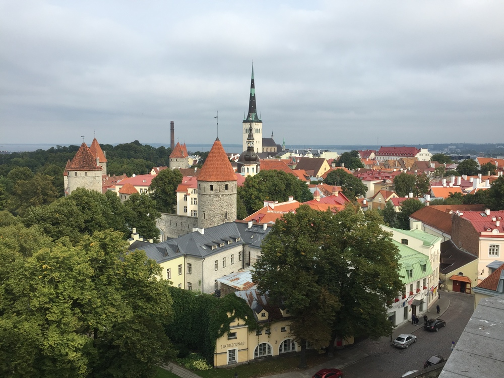 Tallinn, Estonia from above