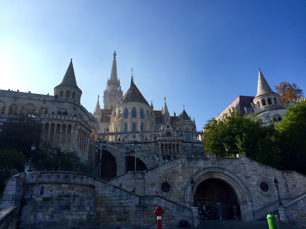 The Fisherman's Bastion from below