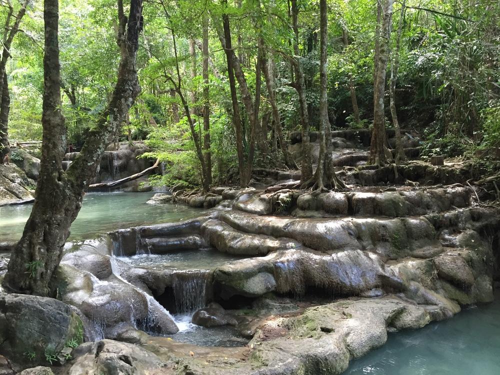 Erawan National Park waterfalls