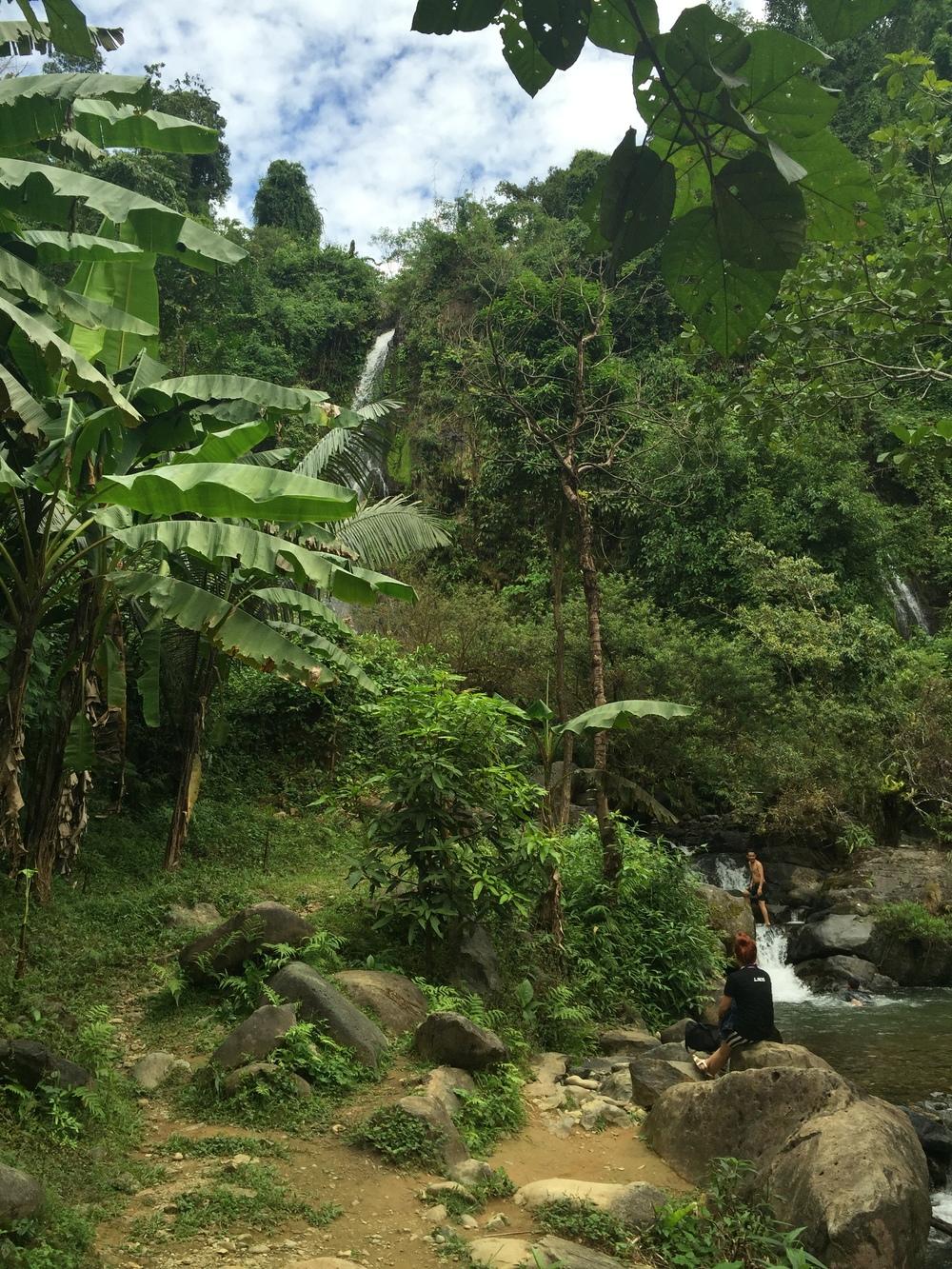 Jungles and waterfalls in Laos
