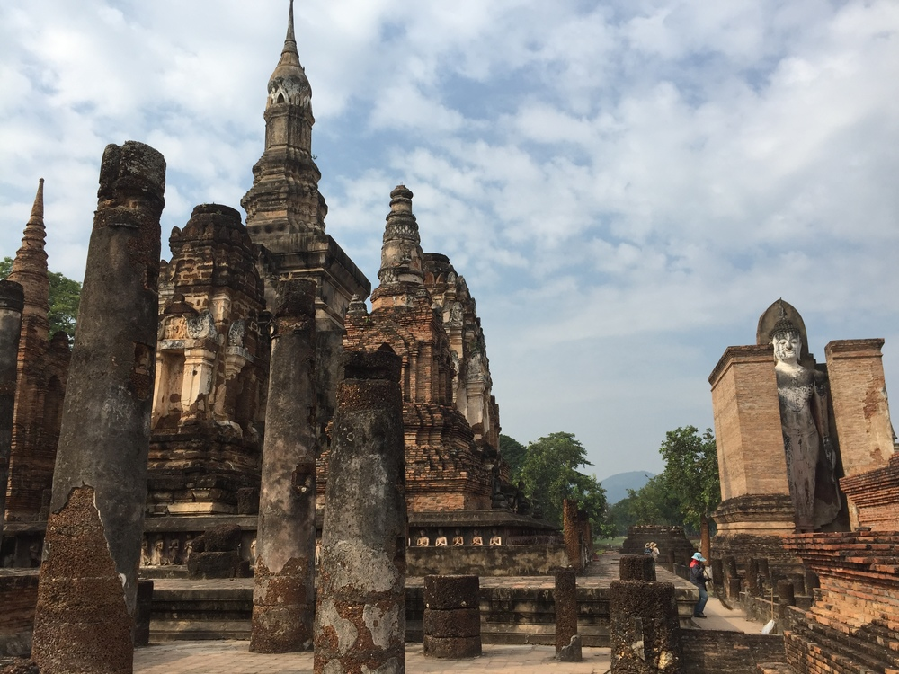 Wat MahaTat within the Sukhothai Historical Park