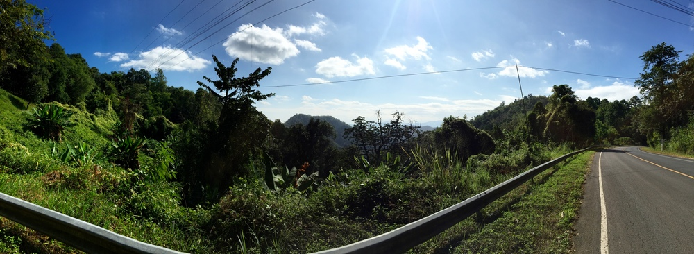 Pano from the Samoeng Loop Ride