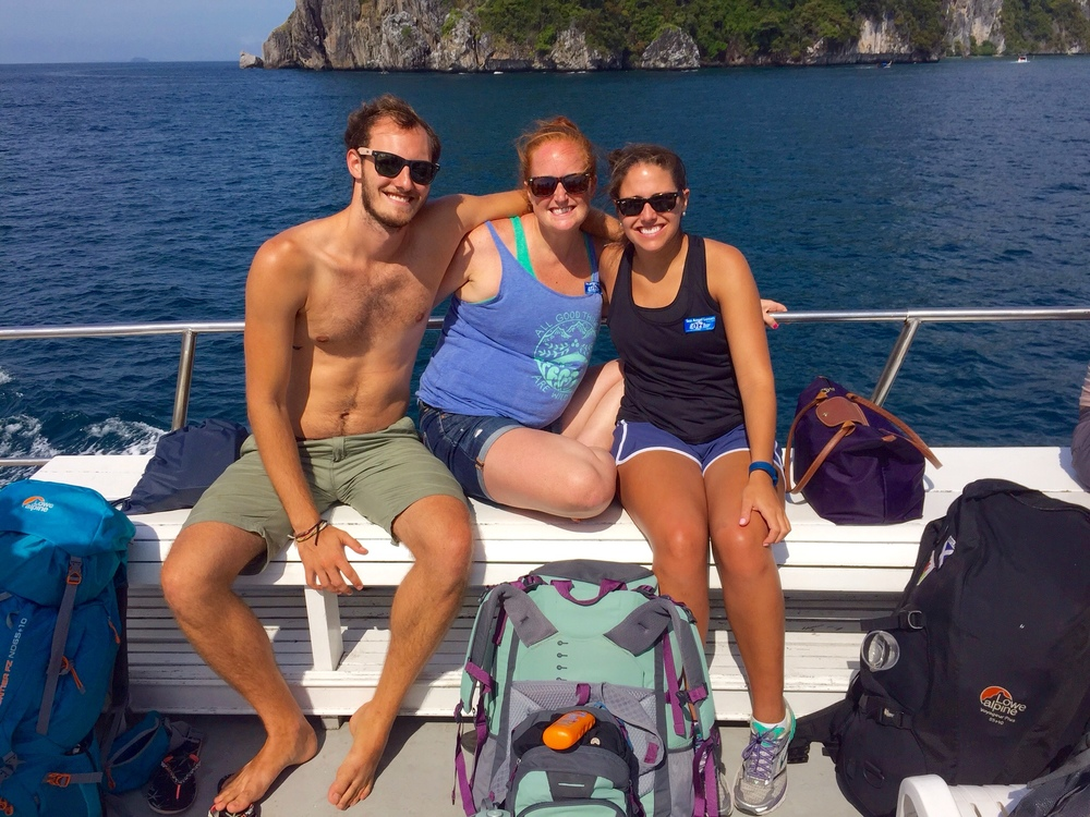 Boat ride to Koh Phi Phi