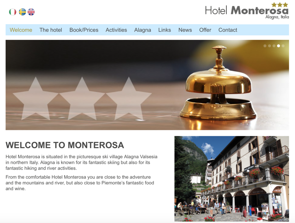Hotel Monterosa, Italy