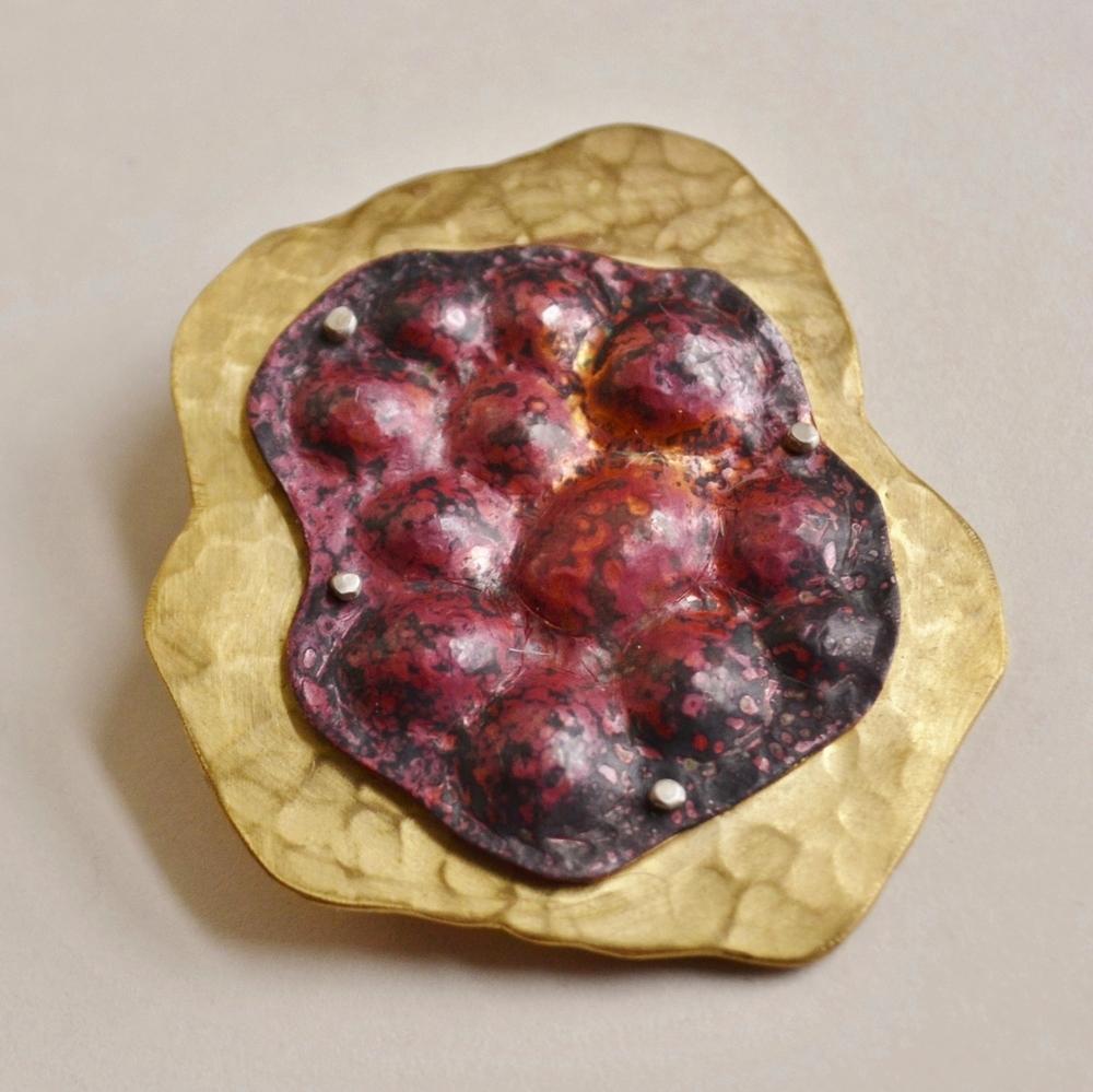 Fungal Brooch