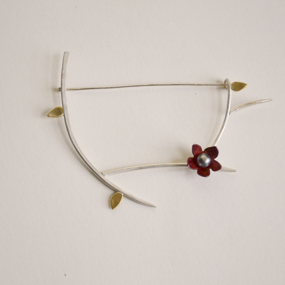 Branch Brooch #1