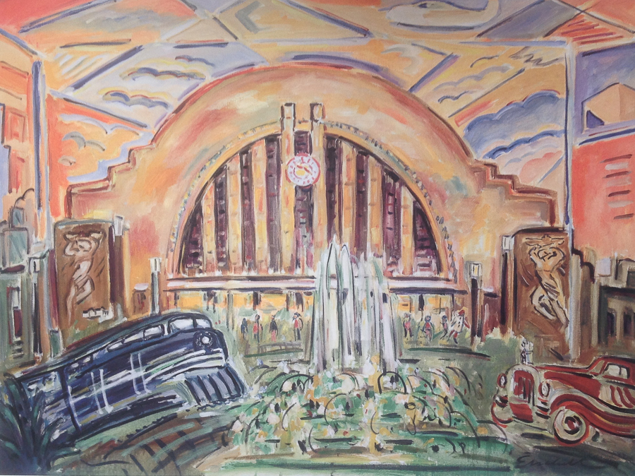 Union Terminal Cincinnati, Ohio