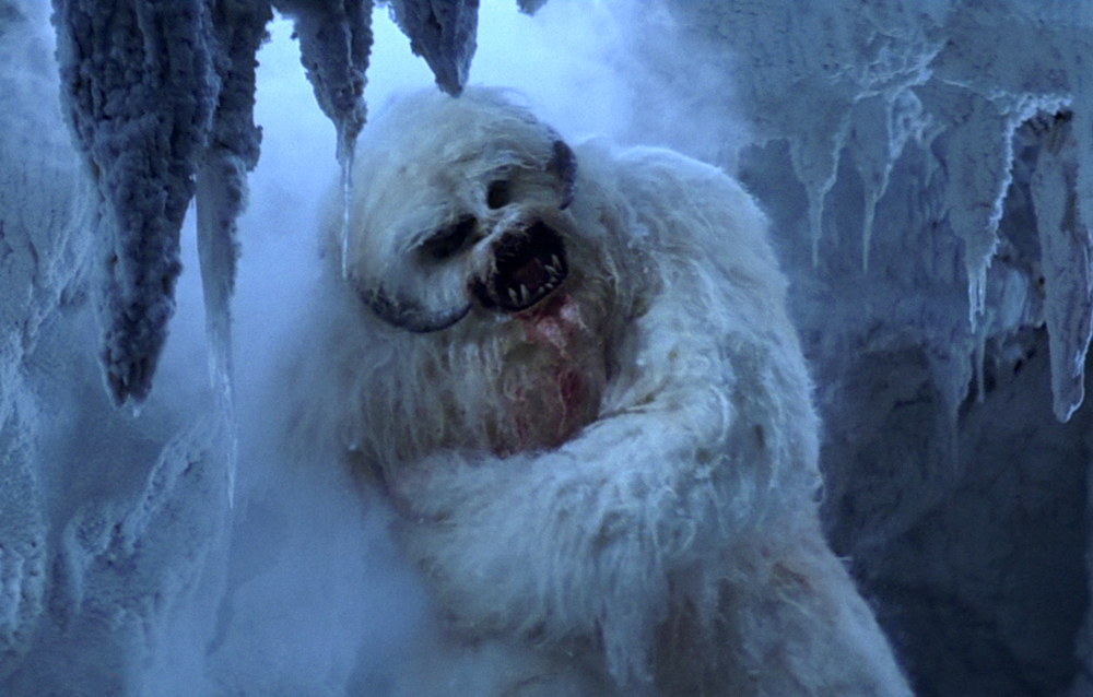 This poor Wampa just lost his arm. Whatever shall we treat his pending MRSA infection with? (Image)