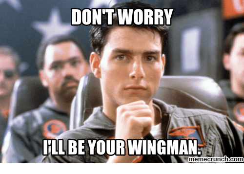 TLDR = your wing(wo)man  (Image)