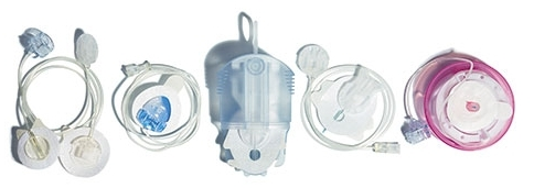 Examples of infusion sets  (Image)