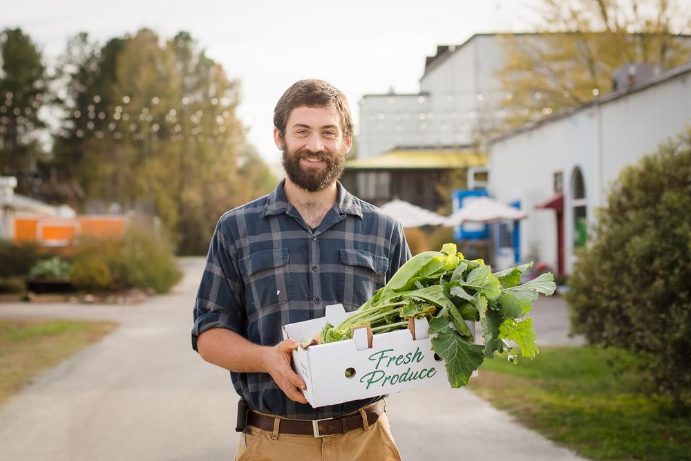 Farmer/Chef Geoff Seelen