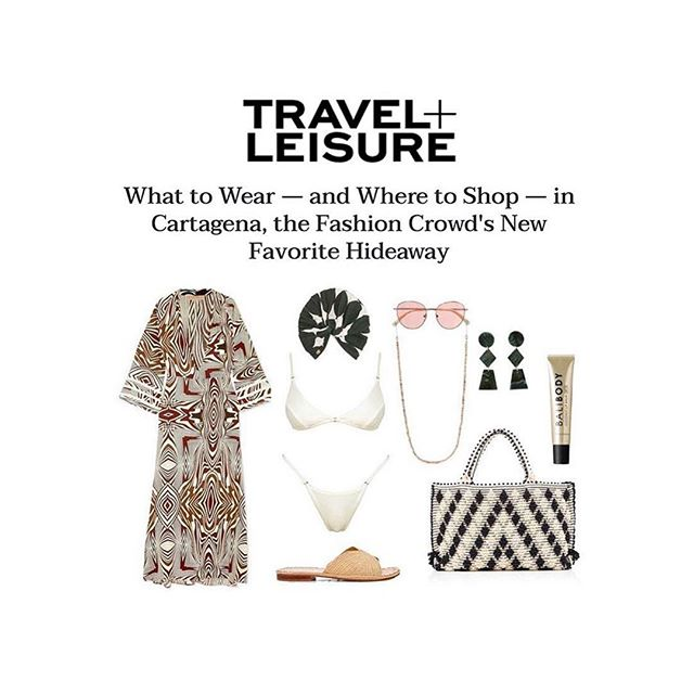 Thanks for the feature @travelandleisure. #CarrieForbesEssentials