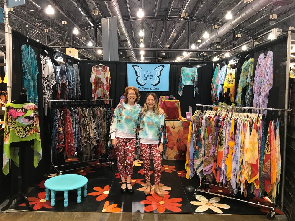 The Flutter Shawl Indoor Booth