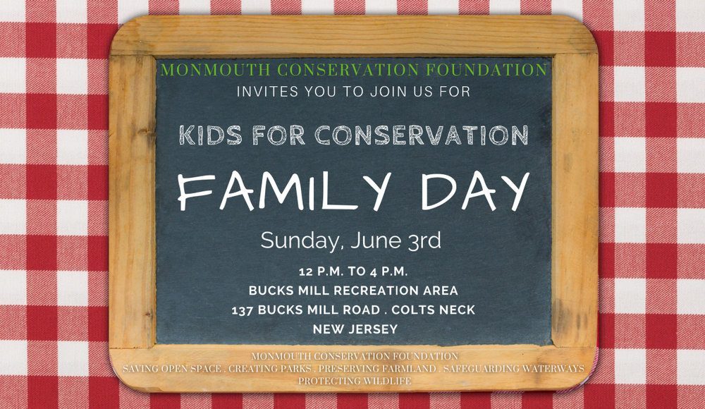 KIDS FOR CONSERVATION FAMILY DAY Sunday, June 3rd