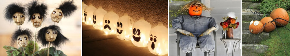 recycled haloween decorations.jpg