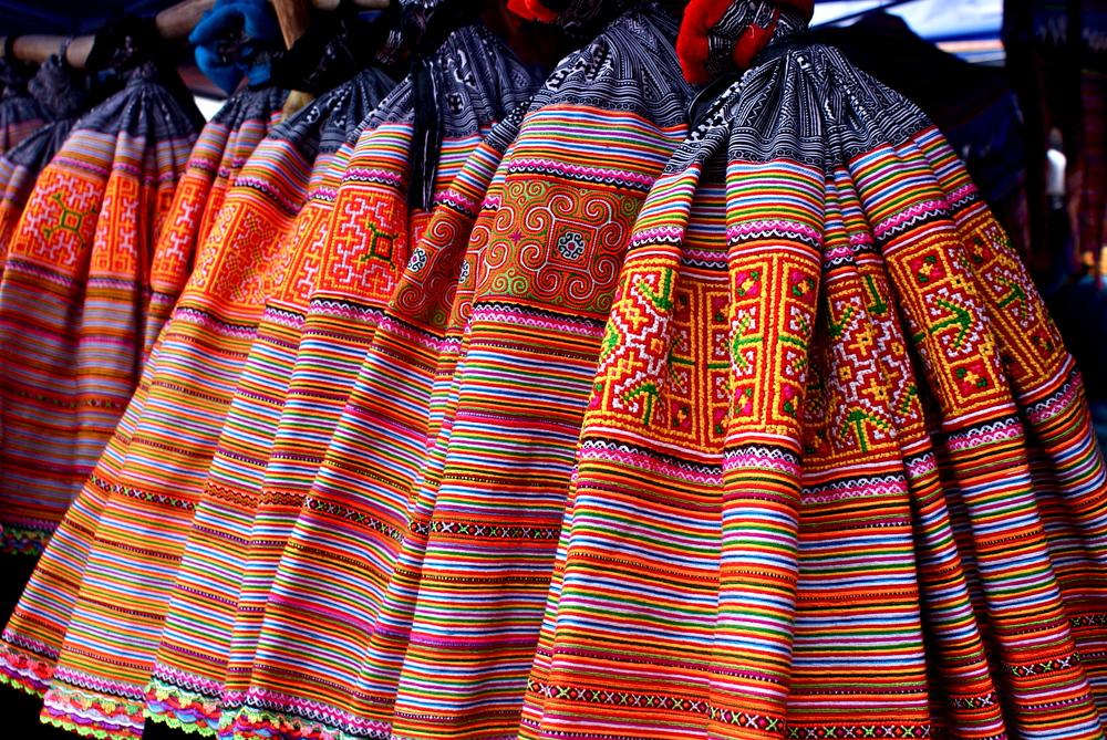 Hmong textiles, Sapa, Vietnam