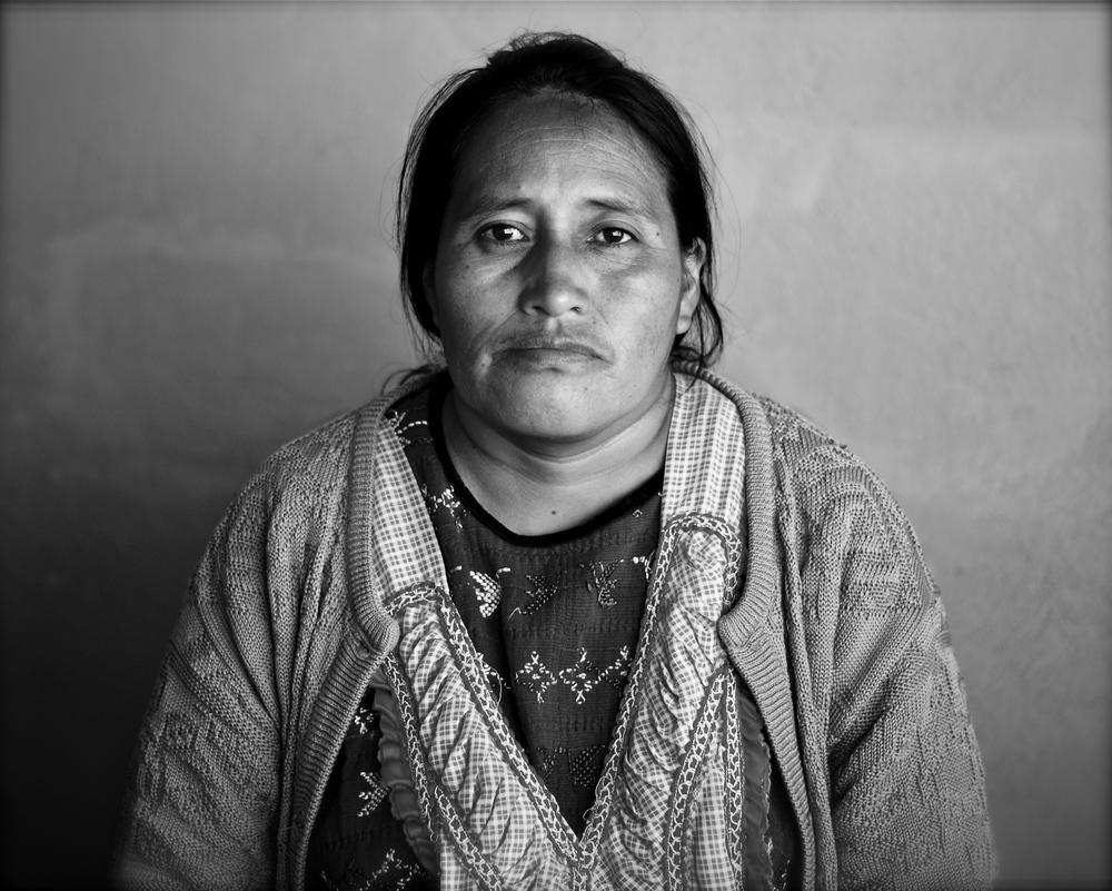 A Mayan woman from Xela, Guatemala.