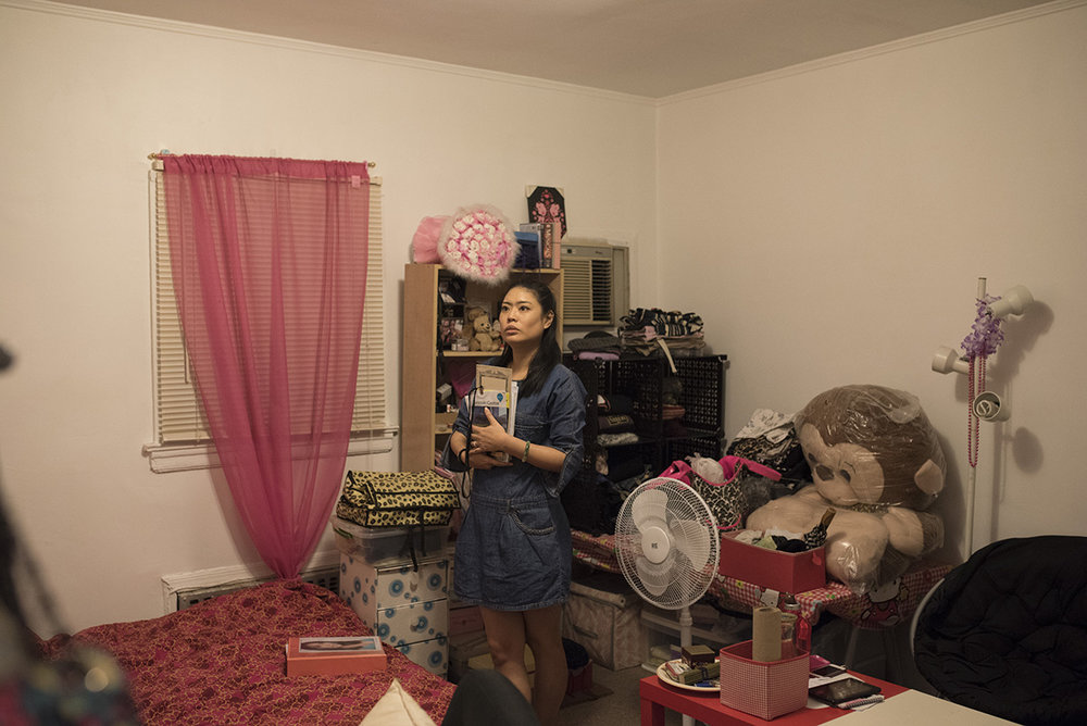 Ya Han Chang at home in Rego Park, Queens. G-Jun Yam / NYT Institute